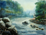 Nature painting of Nepal